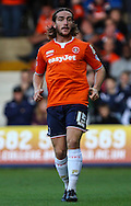 Luke Rooney of Luton Town during the Sky Bet League 2 match at Kenilworth Road, Luton<br /> Picture by David Horn/Focus Images Ltd +44 7545 970036<br /> 19/08/2014