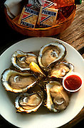 Oysters on the half shell,food photographer,miami,<br />
