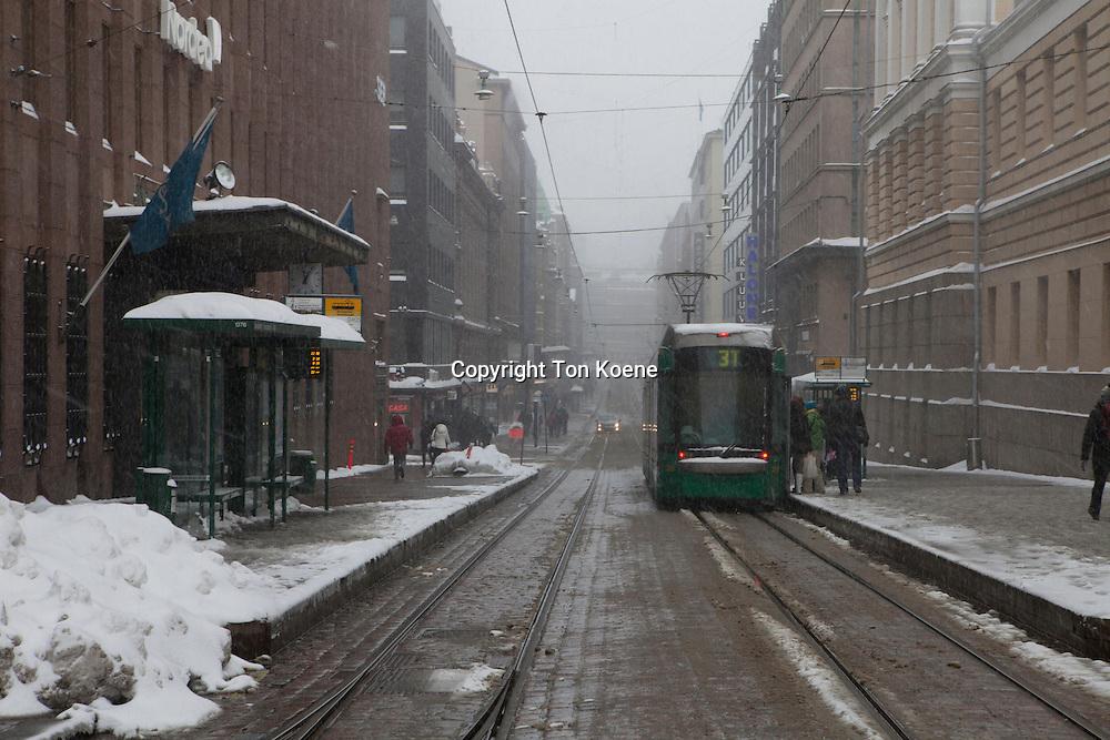 alexandergatan (main shopping street in helsinki)
