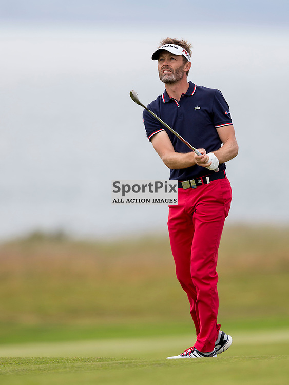 Aberdeen Asset Management Scottish Open 2015<br /> <br /> Rapha&euml;l JACQUELIN  during day 3 of the Aberdeen Asset Management Scottish Open played at Gullane Golf Course on 9-12 July 2015<br /> <br /> <br /> Picture: Alan Rennie