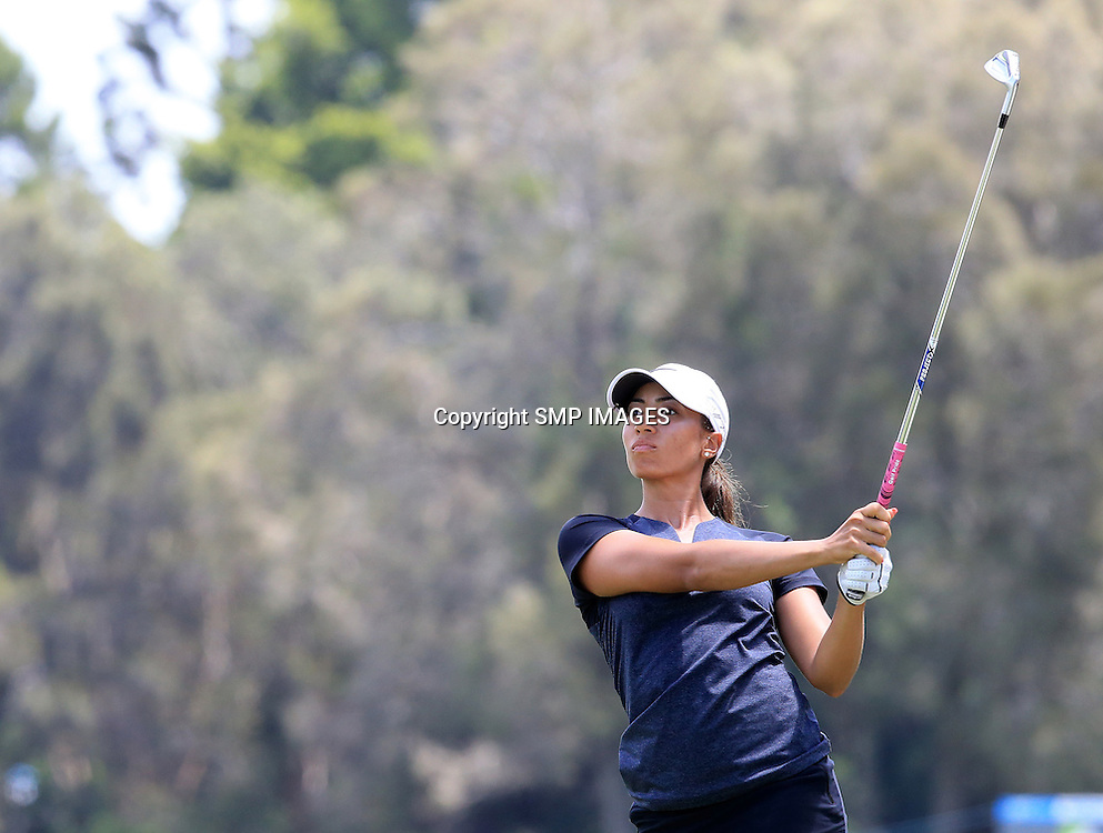 CHEYENNE WOODS (USA) - PHOTO : SMP IMAGES / ALPGA MEDIA - Press conference for the 2015 RACV Ladies Masters being held at Royal Pines Resort on Queenslands Gold Coast.