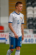 Russia's opening goal scorer Vadim Konyukhov during the U17 European Championships match between Scotland and Russia at Simple Digital Arena, Paisley, Scotland on 23 March 2019.