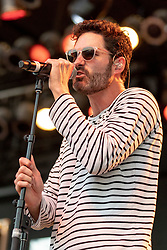 July 1, 2018 - Milwaukee, Wisconsin, U.S - RYAN MERCHANT of Capital Cities performs live at Henry Maier Festival Park during Summerfest in Milwaukee, Wisconsin (Credit Image: © Daniel DeSlover via ZUMA Wire)