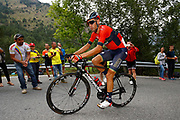 Vincenzo Nibali (ITA - Bahrain - Merida) during the 73th Edition of the 2018 Tour of Spain, Vuelta Espana 2018, 20th stage Andorra Escaldes Engordany - Coll de la Gallina 97.3 km on September 15, 2018 in Spain - Photo Luca Bettini / BettiniPhoto / ProSportsImages / DPPI