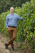 Andrew Davis, Berneau Estate groundbreaking ceremony for  sparkling winery in Dundee, Oregon
