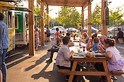 The Portland Mercado is a collection of latin owned food carts in SE Portland.