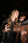 ZOE HAYWARD, Agent Provocateur celebrate the launch of Agent Provocateur Maitresse Gold Edition. The Grill Room. Cafe Royal London. 3 October 2007. -DO NOT ARCHIVE-© Copyright Photograph by Dafydd Jones. 248 Clapham Rd. London SW9 0PZ. Tel 0207 820 0771. www.dafjones.com.