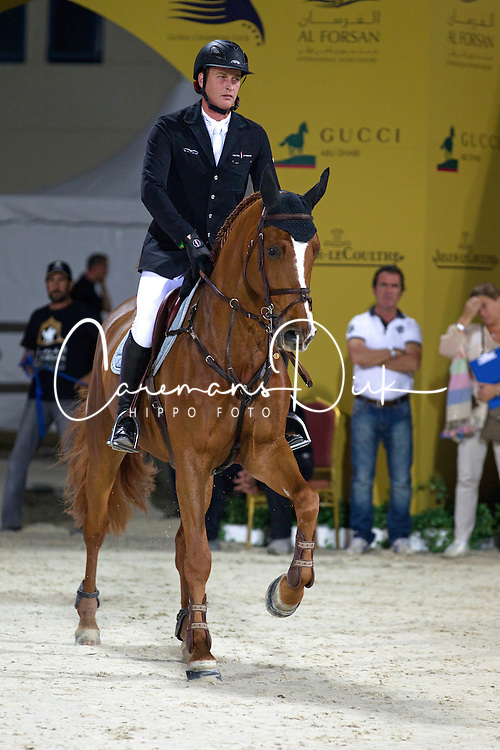 Houtzager Marc (NED) - Uppity<br /> Final Global Champions Tour - Abu Dhabi 2012<br /> &copy; Hippo Foto - Cindy Voss