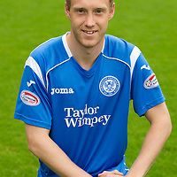 St Johnstone Photocall, Season 2010-11<br /> Steven Anderson<br /> Picture by Graeme Hart.<br /> Copyright Perthshire Picture Agency<br /> Tel: 01738 623350  Mobile: 07990 594431