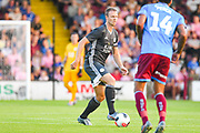 Jonny Evans of Leicester City (6) in action during the Pre-Season Friendly match between Scunthorpe United and Leicester City at Glanford Park, Scunthorpe, England on 16 July 2019.