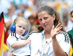 MOSCOW, June 17, 2018  Fans of Germany are seen prior to a group F match between Germany and Mexico at the 2018 FIFA World Cup in Moscow, Russia, June 17, 2018. (Credit Image: © Cao Can/Xinhua via ZUMA Wire)