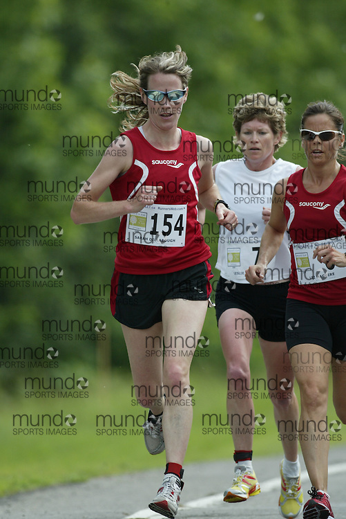 (Ottawa, Ontario---20/06/09)    SARAH DILLABOUGH competing in the 2009 edition of Emilie's Run 5km race for women in Ottawa. Copyright photograph Sean Burges / Mundo Sport Images, 2009. www.mundosportimages.com / www.msievents.