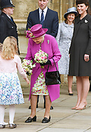 01.04.2018; Windsor,UK: KATE MIDDLETON JOINS ROYALS FOR EASTER SERVICE<br />The Duchess of Cambridge who is due to give birth to her third child was accompanied by Prince William to the Easter Church Service at St George&rsquo;s Chapel, Windsor Castle.<br />Other royals who joined Queen Elizabeth for the service were Princess Eugenie and fiance Jack Brooksbank, Princess Beatrice, Prince Andrew, Princess Anne, Prince Edward, Sophie, Countess of Wessex, Peter Phillips, Autumn Phillips, Zara Tindall, Lady Lousie Windsor and Viscount Severn<br />Mandatory Photo Credit: &copy;Francis Dias/NEWSPIX INTERNATIONAL<br /><br />IMMEDIATE CONFIRMATION OF USAGE REQUIRED:<br />Newspix International, 31 Chinnery Hill, Bishop's Stortford, ENGLAND CM23 3PS<br />Tel:+441279 324672  ; Fax: +441279656877<br />Mobile:  07775681153<br />e-mail: info@newspixinternational.co.uk<br />Usage Implies Acceptance of Our Terms &amp; Conditions<br />Please refer to usage terms. All Fees Payable To Newspix International