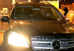 UK ENGLAND LONDON 123FEB10 - Former tennis star Boris Becker, his wife Lilly and their newly born son Amadeus leave Portland Hospital in central London...jre/Photo by Jiri Rezac..© Jiri Rezac 2010