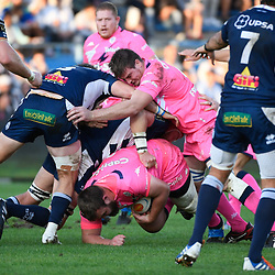 Mathieu DE GIOVANNI of Stade Francais during the Top 14 match between Agen and Stade Francais on October 19, 2019 in Agen, France. (Photo by Julien Crosnier/Icon Sport) - Mathieu DE GIOVANNI - Stade Armandie - Agen (France)