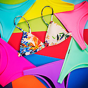 Triangl Bikinis Flat Lay Shot on 16 February 2016 in Hong Kong. Style by Syan Leung, Photo by Moses NG / illumeVisuals