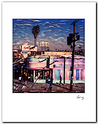 Super Thrift, Melrose Ave 1983  11x14 signed archival pigment print free shipping USA