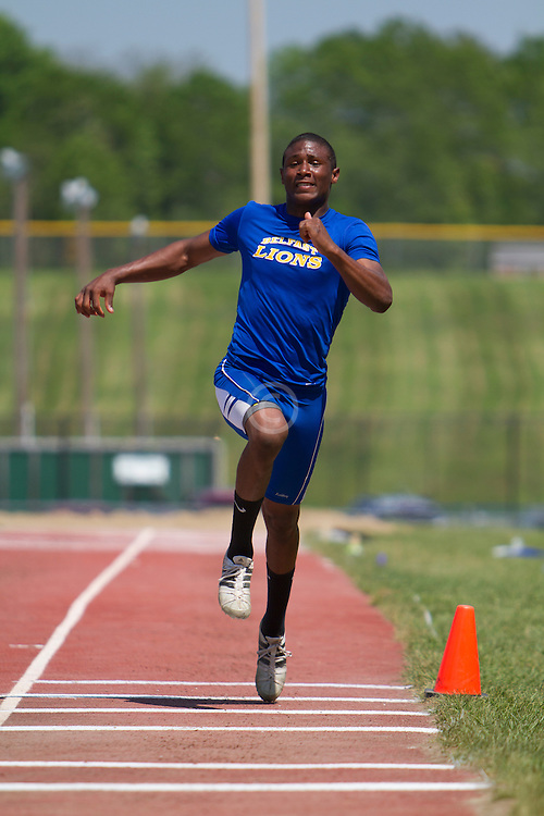 boys triple jump, Maine State Track & FIeld Meet - Class B