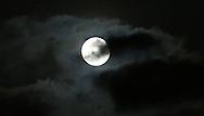 El satélite más cerca de la tierra la luna se observa 20:33 en San Salvador, El Salvador JUN 23,2013. Ya se disfruta el espectáculo que ofrece el fenómeno en distintas partes del pais. Photo: Edgar ROMERO/Imagenes Libres.