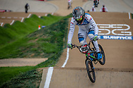#959 (SCHOTMAN Mitchel) NED at Round 2 of the 2020 UCI BMX Supercross World Cup in Shepparton, Australia.