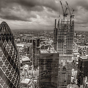 London is a city which never stops growing, both upwards and outwards. I enjoy heading to the top of its tallest buildings to look beyond the new architecture to see the historical buildings beyond which complement the new.