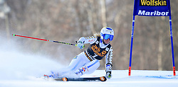 21.02.2015, Pohorje, Maribor, SLO, FIS Weltcup Ski Alpin, Maribor, Riesenslalom, Damen, 1. Lauf, im Bild Jessica Lindell-Vikarby (SWE) // Jessica Lindell-Vikarby of Sweden during the 1st run of ladie's Giant Slalom of the Maribor FIS Ski Alpine World Cup at the Pohorje in Maribor, Slovenia on 2015/02/21. EXPA Pictures © 2015, PhotoCredit: EXPA/ Erwin Scheriau