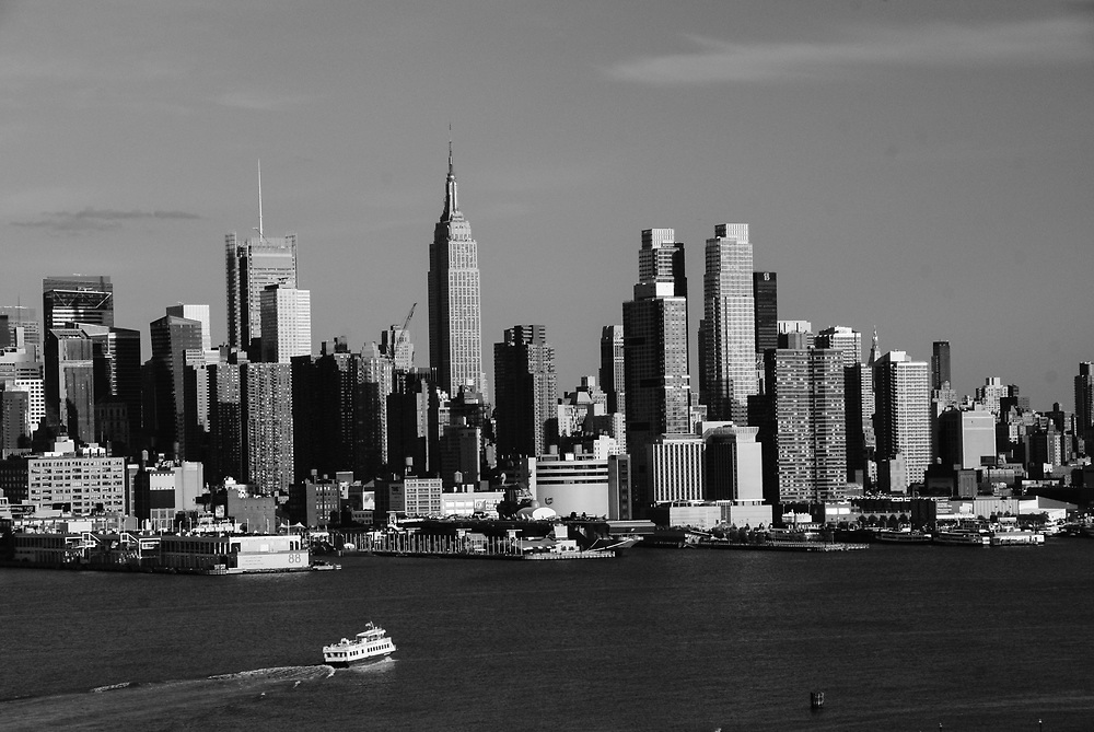 View of nyc skyline from Weehawken ,NJ 2010