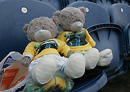 Stockport - Saturday October 31st 2009: Norwich City teddies prior to the game against Stockport County during the Coca Cola League One match at Edgeley Park, Stockport. (Pic by Michael SedgwickFocus Images)