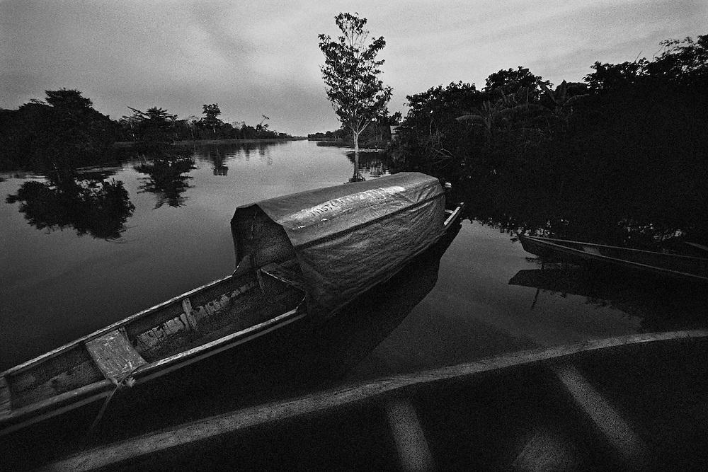 Colombie, rio amazonas, comunidade Gamboa.