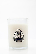 Studio product image of Bridge NIne Candle Company Scented NW Pear soy candle on white background