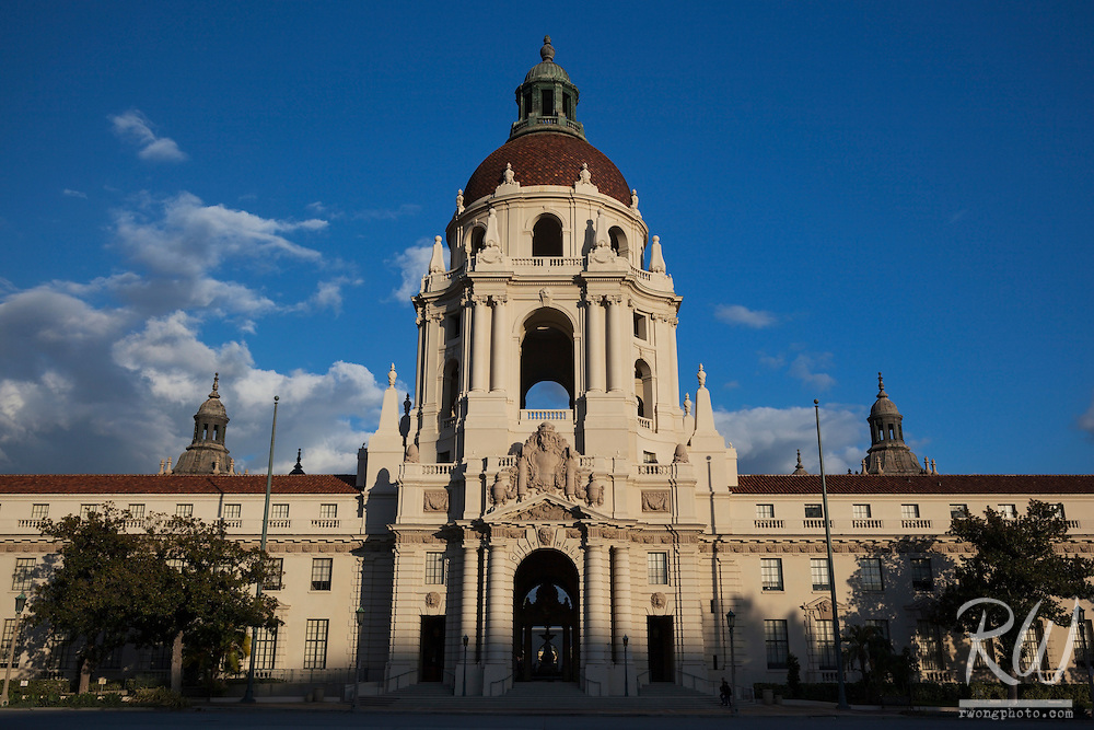 City Hall / Garfield Ave., Pasadena, California