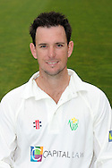 Jim Allenby. Glamorgan County Cricket Club, season 2012, photocall at the Swalec Stadium in Cardiff. pic by Andrew Orchard