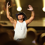 Washington, D.C. - July 10th, 2010:  Tim McGraw performs at Jiffy Lube Live as part of his Southern Voice tour. (Photo by Kyle Gustafson/For The Washington Post)
