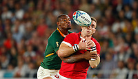Rugby Union - 2019 Rugby World Cup - Semi-Final: Wales vs. South Africa<br /> <br /> Makazole Mapimpi of South Africa and George North of Wales at International Stadium Yokohama, Kanagawa Prefecture, Yokohama City.<br /> <br /> COLORSPORT/LYNNE CAMERON
