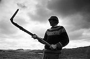 1996 Peat Cutting, Western isles