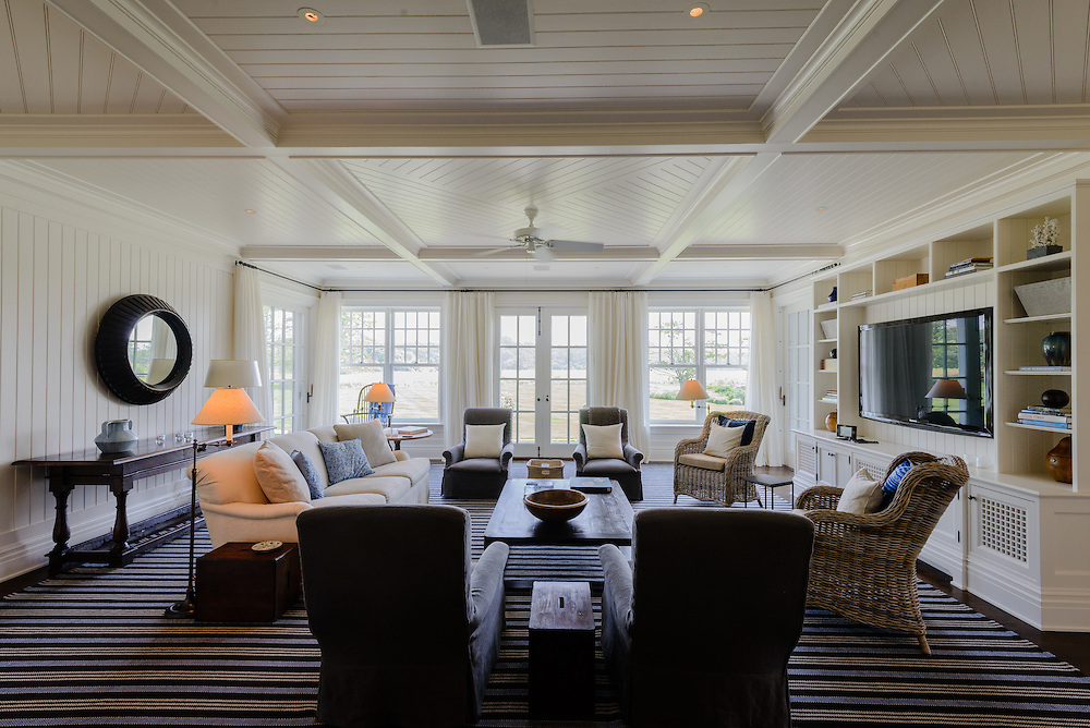 249 Further Lane, East Hampton, NY Long Island Designed by  architect John B. Murray, built by Peter Hammer, interior by Victoria Hagan