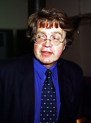 MR MERVYN HOLLAND, he is the grandson of playwright Oscar Wilde, at a play in London on 21st July 1999.MUJ 23