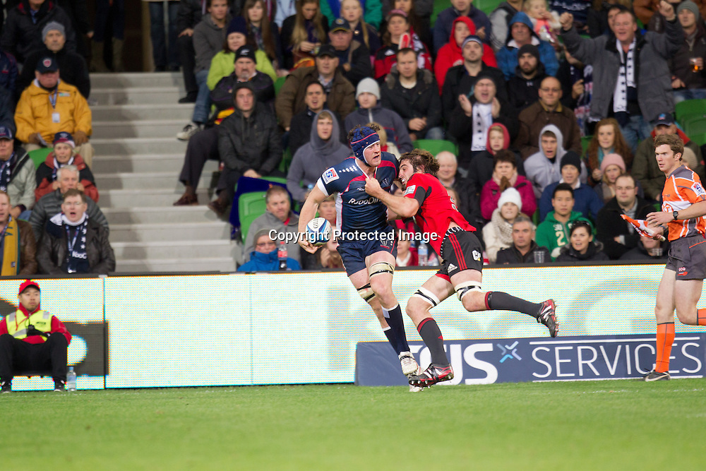 Neville Cadeyrn Melbourne Rebels v Canterbury Crusaders 28-19, 12 May 2012