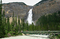 Takkakaw Falls<br /> 1016 Feet<br /> Cree word for awesome   Photo: Peter Llewellyn
