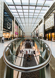 Interior of The  Dubai Mall in Dubai United Arab Emirates