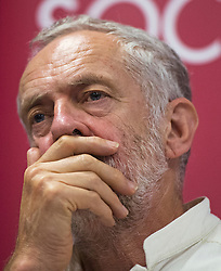 **File picture. Unite union have selected Jeremy Corbyn as their preferrence to be the next Labour Party leader**© London News Pictures. File pic dated 06/06/2015. London, UK. JEREMY CORBYN speaking.  Current Labour Leadership candidates attend a debate at the Fabien Society Conference. All five declared candidates will address the annual conference of the GMB union, in Dublin today (Tues). Photo credit: Ben Cawthra/LNP