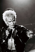 Billy Idol live 1986 London.