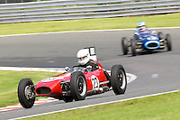 HSCC Gold Cup Oulton Park, Cheshire, United Kingdom.  28th-29th August 2011.  Race 2 HSCC/HFJRA JMW Front Engined Series. Historic Formula Junior Race A (Class A - B). 23 Bernard Brock Elva 100. World Copyright: Peter Taylor/PSP. Copy of publication required for printed pictures. Every used picture is fee-liable.