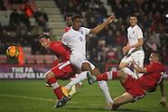 England v Canada U20's 12/11/2014