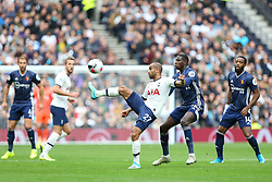 Lucas of Tottenham Hotspur controls the ball under pressure - Mandatory by-line: Arron Gent/JMP - 19/10/2019 - FOOTBALL - Tottenham Hotspur Stadium - London, England - Tottenham Hotspur v Watford - Premier League