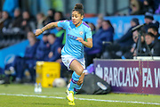 Manchester City Women defender Demi Stokes (3) during the FA Women's Super League match between Tottenham Hotspur Women and Manchester City Women at the Hive, Barnet, United Kingdom on 5 January 2020.