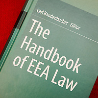 Brussels, Belgium 15 December 2015<br /> Launch of The Handbook of EEA Law.<br /> Photo: Ezequiel Scagnetti