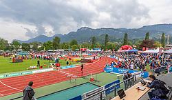 26.05.2018, Moeslestadion, Götzis, AUT, 45. Hypo Meeting Goetzis, am Sonntag, 26. Mai 2019, im Rahmen des Hypo-Mehrkampfmeeting in Götzis. // Möslestadion of Austria during the 45th Hypo Athletics Meeting. Götzis, Austria on 2019/05/26, im Bild Möslestadion (AUT) // Möslestadion of Austria during the 45th Hypo Athletics Meeting at the Moeslestadion in Götzis, Austria on 2018/05/26. EXPA Pictures © 2019, PhotoCredit: EXPA/ Peter Rinderer