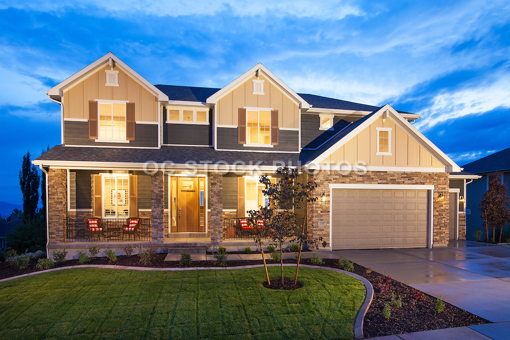 Two Story Home with Three Car Garage