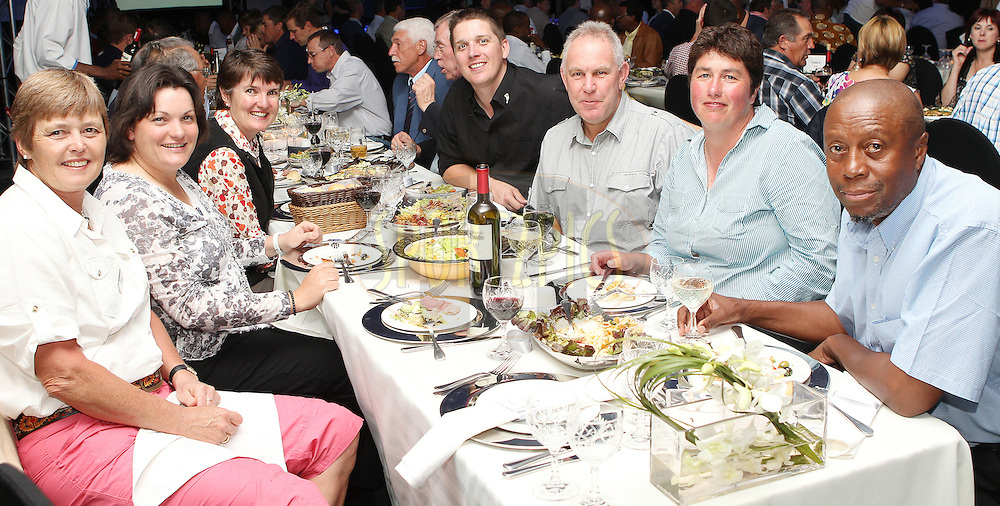 SCC finalists during the gala evening and prize giving of the Sanlam Cancer Challenge Finals 2012 held at The Gary Player Golf Course at Sun City on the 23rd October 2012...Photo by Ron Gaunt/SPORTZPICS